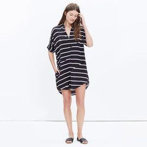 NWT Madewell Sz XS Courier Breakstripe Dress